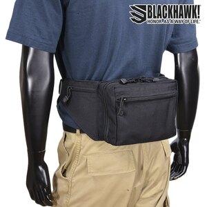 ブラックホーク ウエストポーチ 60WF05BK ファニーパック ウエストバッグ型 ホルスター | Blackhawk BHI ミリタリーグッズ ミリタリー用品 サバゲー装備