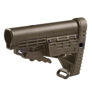 CAAタクティカル 実物 バットストック CBS AR15 M4対応 [ タン ] CAATactical 銃床 リトラクタブルストック スライドストック M4ストック ピカティニーレール ピカティニーレイル AR-15