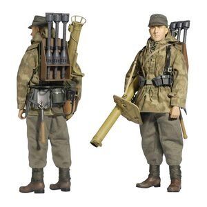 Dragon Models アクションフィギュア ドイツ陸軍 ルートヴィヒ・ブラウス DRAGON MODELS 可動式ミリタリーフィギュア 第二次世界大戦 |