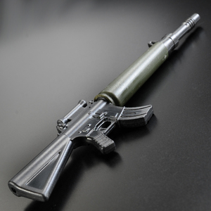 Ballpoint pen assault rifle M16 [blackolivedrab] writing tool automatic rifle 5.56 mm AR_15 blue ink FMCG goods stationery military outdoor hobby sale