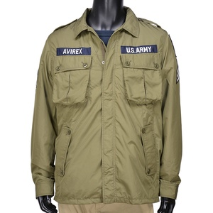 AVIREX ミリタリージャケット ジャングルファティーグ ポリエステル 6162115 [ オリーブ / XLサイズ ] アビレックス winter_spdl01 アヴィレックス アーミージャケット メンズ 上着