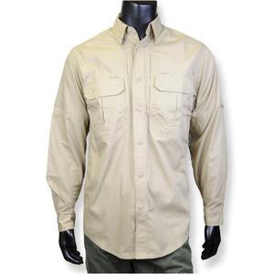 5.11タクティカル 長袖シャツ 72175 カーキ [ Lサイズ ] 511 ワークシャツ 作業着 タクティカルシャツ ポケット付き