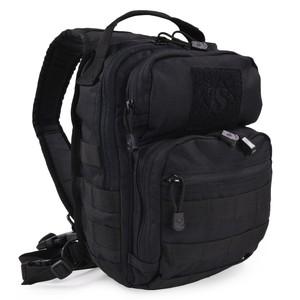 TRU-SPEC バックパック TREK SLING [ ブラック ] リュックサック ナップザック デイパック カバン かばん 鞄 ミリタリー ミリタリーグッズ サバゲー装備 スリングバッグ ワンショルダー ショルダーバッグ 斜め掛けバッグ