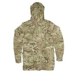 イギリス軍放出品 マウンテンパーカー MTPカモ 防風 防寒 スモック ジャケット コンバットジャケット 迷彩 British army 英国軍 軍物 軍払い下げ品 ミリタリー アウトドア サバゲー