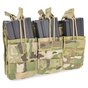 CONDOR マグポーチ M4 M16系 トリプルスタッカー MA44 [ マルチカム ] コンドルアウトドア MA44-009 M4マガジンポーチ 弾倉 サバゲー装備