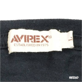 AVIREX T shirt short sleeve U.S.ARMY AIR CORP [Black / 2XL size] 6143526 mens T shirts short-sleeved print design sports military T shirt military shirts