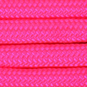 パラコード タイプ3 ネオンピンク [ 30m ] ロープ パラシュートコード 綱 靴紐 靴ひも シューレースロープ 550コード