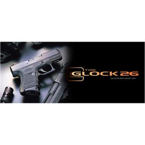 東京マルイ ガスガン グロック26 可変ホップアップ GLOCK26   Glock TOKYO MARUI ハンドガン 抹消 ピストル ガス銃 18才以上用 18歳以上用 ガスブローバック