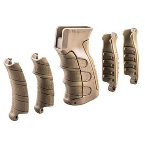 CAAタクティカル 実物 ガングリップ UPG47 交換パーツ付属 AK47対応 [ カーキ ] Interchangeable ライフルグリップ CAATactical カスタムグリップ カスタムパーツ 6ピース ポリマー