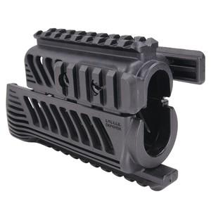 FABディフェンス 実物 ハンドガード KPR クワッドレイル AKS-74U用 [ ブラック ] ファブディフェンス DEFENSE レイルマウント レールアクセサリー トイガンパーツ サバゲー用品