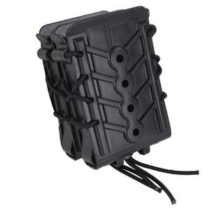 ハイスピードギア TACO ポリマーX2R 実物 ライフルマグケース 162R00 [ ブラック ] HSGI POLY M4マガジンケース M4マグケース M16マグケース ダブルマガジンケース 弾倉 モール対応