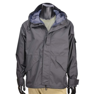ALPHA フィールドジャケット ECWCS 1ST GEN フィールドパーカー [ ブラック / Sサイズ ] アーミージャケット メンズ 上着