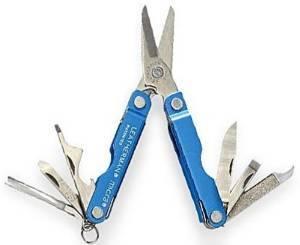 レザーマン マイクラ シザースツール アルミ [ ブルー ] MICRA|Leatherman はさみ ハサミ 鋏 多機能工具 ツールナイフ アーミーナイフ マルチツール 十徳ナイフ 十得ナイフ