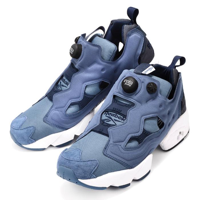 【メンズ/レディース】REEBOK INSTA PUMP FURY TECH AR0624 リーボック インスタポンプフューリー テック スニーカー 靴 ブルー ネイビー
