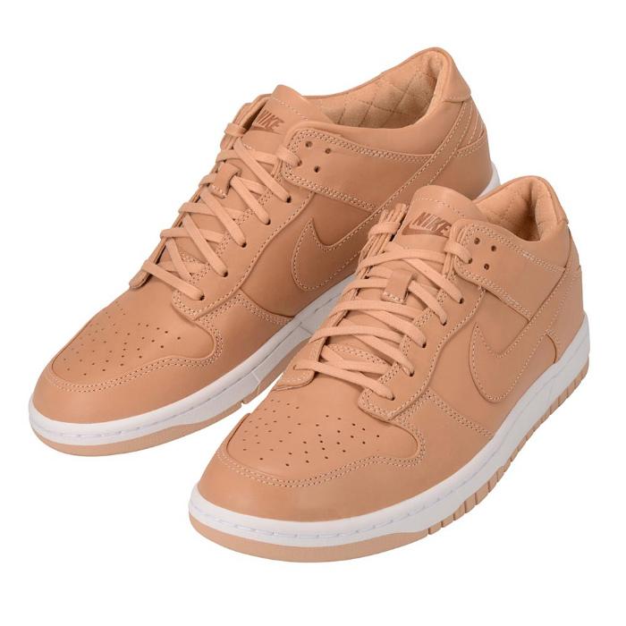 【男女兼用】NikeLab Dunk Lux Low 857587 200 ナイキラボ ダンク ラックス ローカット スニーカー 靴 タン ブラウン