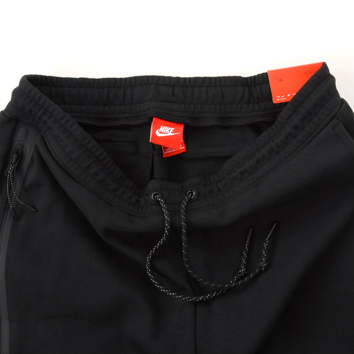 NIKE TECH FLEECE PANTS 545343 011耐克技术fleece裤子黑色运动衫锥形