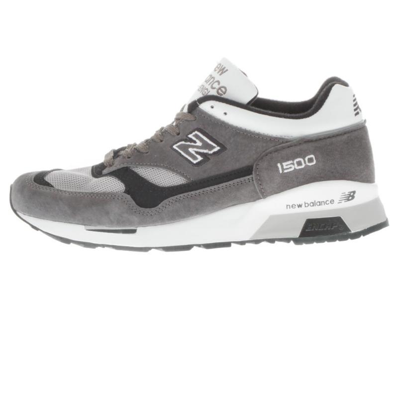 新平衡 M1500SBW-在英格兰新平衡运动鞋 D 明智英格兰制造 / 木炭白色英国模型