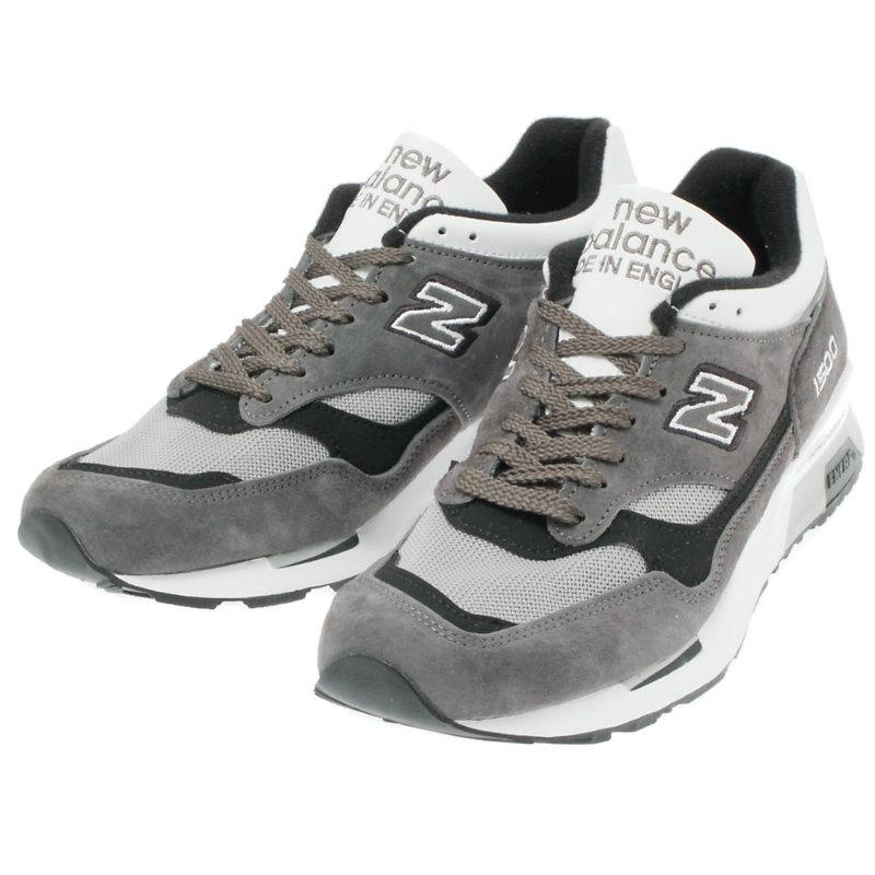 新平衡 M1500SBW-在英格蘭新平衡運動鞋 D 明智英格蘭製造 / 木炭白色英國模型