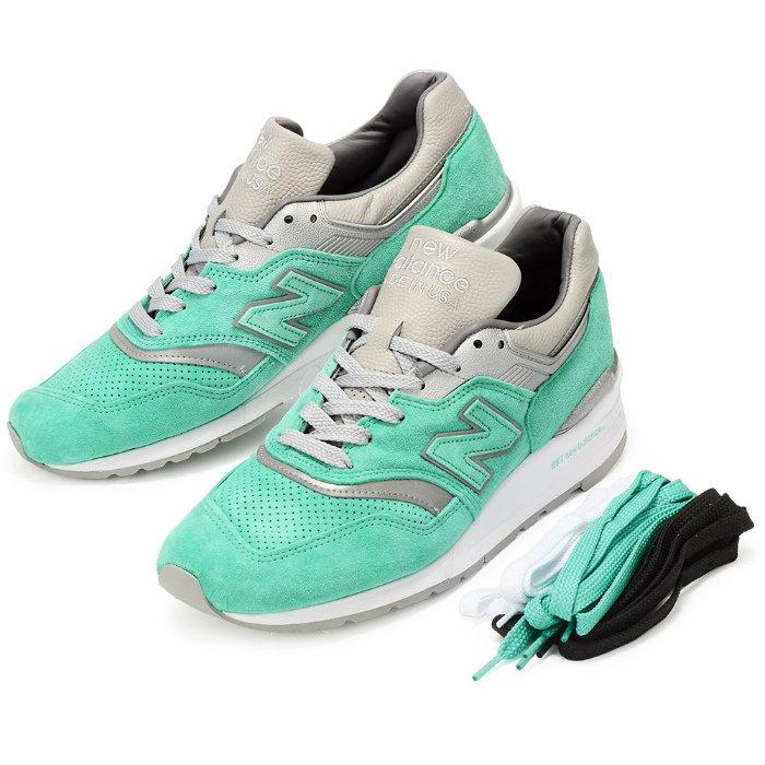 【メンズ】New Balance x CONCEPTS M997NSY ニューバランス コンセプツ コラボ スニーカー ターコイズ グリーン 靴 Made in USA 997