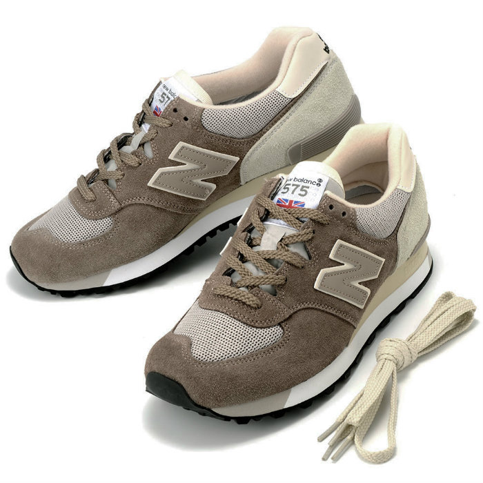 New Balance M575SGG MADE IN ENGLAND new balance sneakers suede mesh grey  beige shoes 575 UK model made-in-England 05P01Oct16