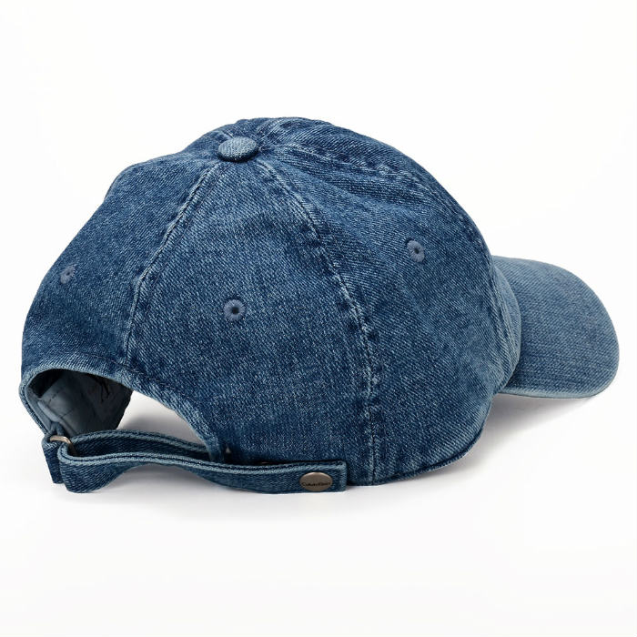 Calvin Klein Calvin Klein BASEBALL DENIM ALL CAP baseball cap denim hat logo Cap snap back Cap CK