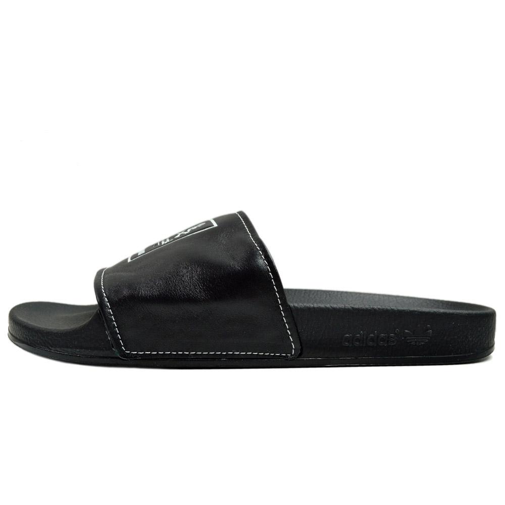 adidas Originals by NEIGHBORHOOD adilette B26094 adidas originals neighborhood collaboration adiliette limited edition Sandals black