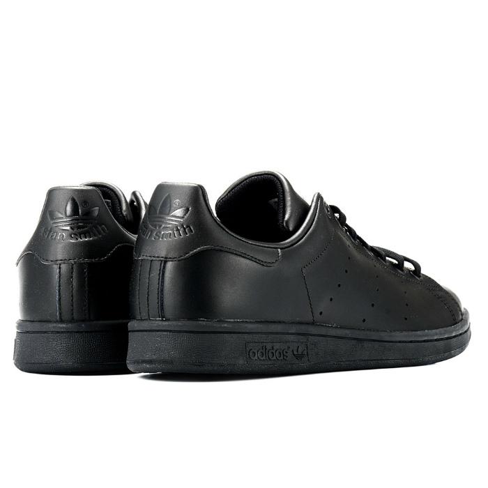 adidas stan smith black leather