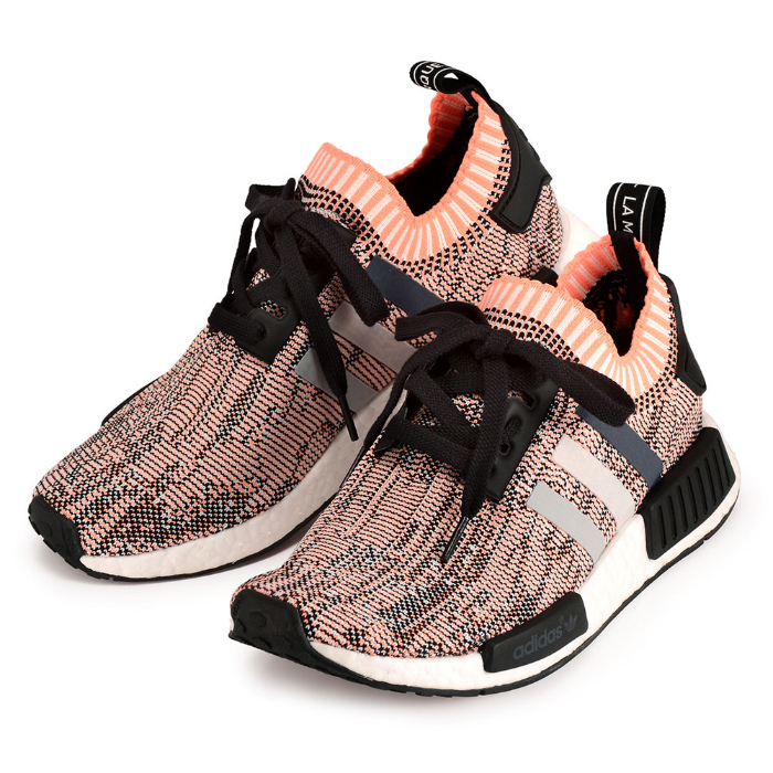lowest price 936a8 b2598 Adidas women sneakers N M D prime knit boost adidas NMD R1 PK BB2361 Core  Black & Clear Onix