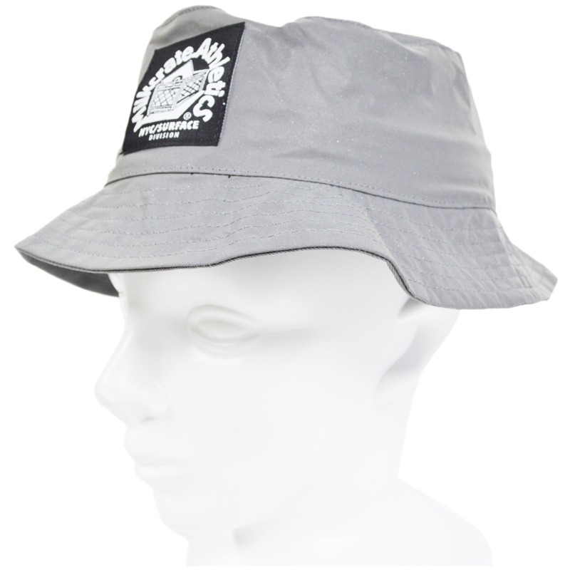d6fb66357b1 Milkcrate Athletics Reflecto Bucket Hat milk Leite Athletics bucket Hat  reflector processing silver Hat