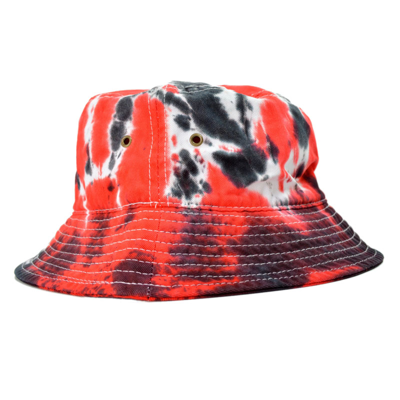 914133866 For a limited time! Milkcrate Athletics USA TIEDYE BUCKET HAT milk rate  Athletics pail hat tie-dyeing red hat (otr0270)