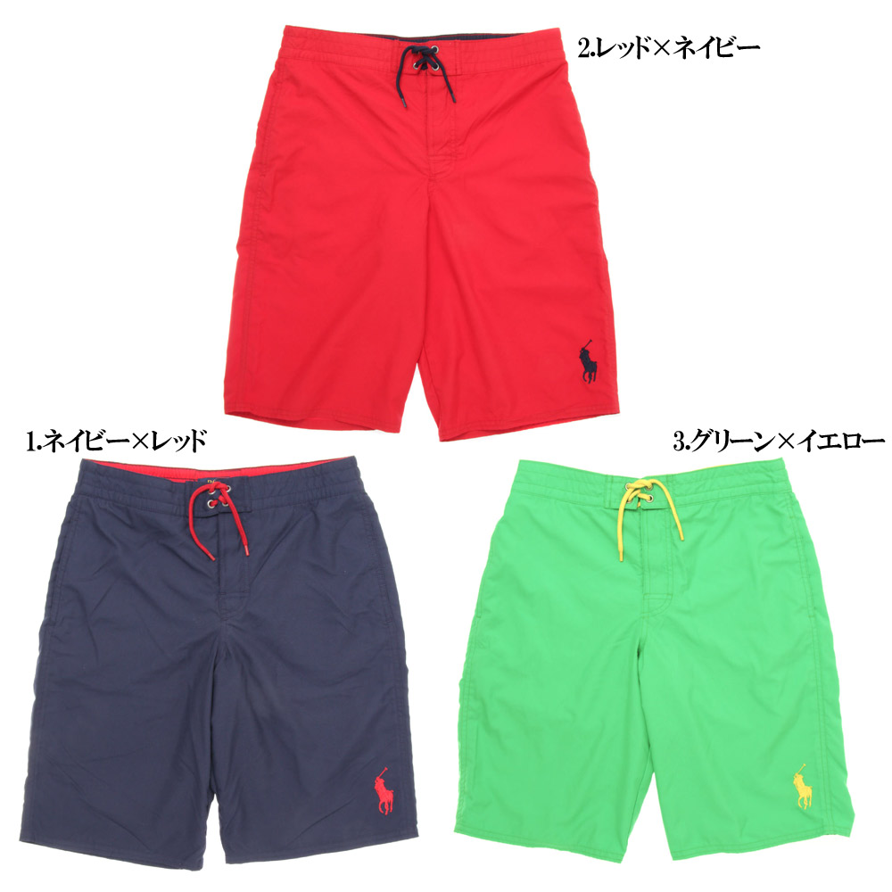 4455b0202b Lady's / Boys POLO by Ralph Lauren Solid Sanibel Swim Trunk polo Ralph  Lauren swim trunk ...
