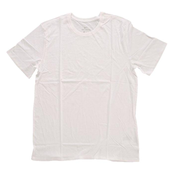 Republic Kie Ney S B T Shirt Short Sleeves Plain Fabric White Nike
