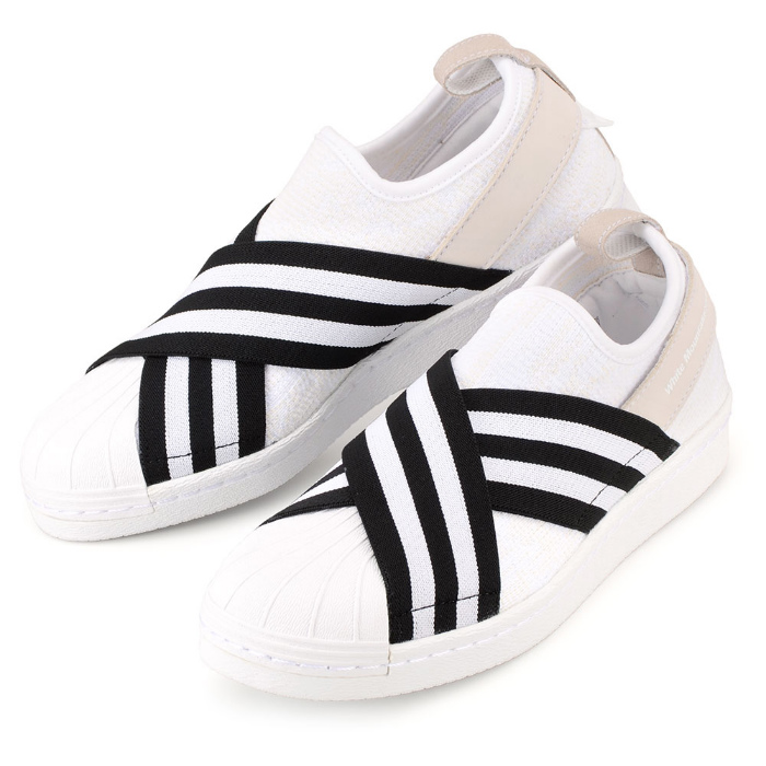 quality design c9e24 ec1f9 Adidas superstar slip-ons sneakers Lady's white adidas by White  Mountaineering Superstar Slip-on Primeknit BY2881 マウンテニアリングコ
