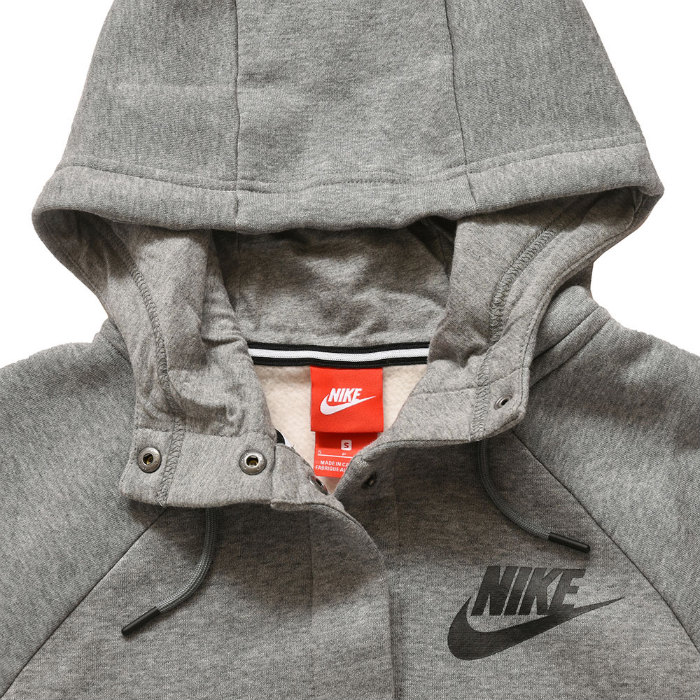 Until January 6, 2020 for a limited time! Nike sportswear women rally parka jacket NIKE NSW Womens Rally Jacket Hooded 857394 091 Lady's gray