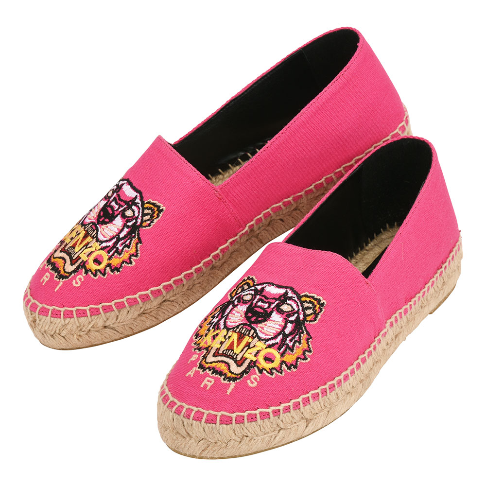 ee15f409170 Kenzo espadrille slip-ons Lady's shoes shoes pink KENZO Espadrilles  F762ES180F50 26A ...