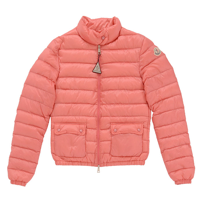 Monk rail down jacket Lady's outer pink light weight MONCLER Lans 45379 99 53048 417