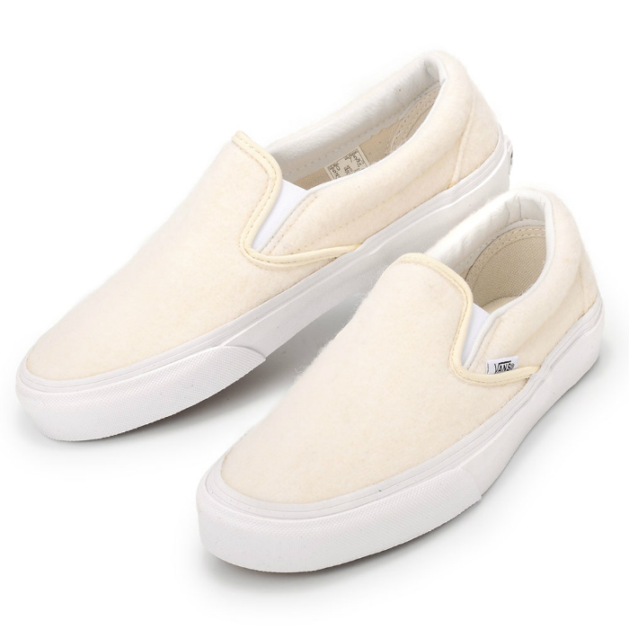 d85f45e047 VANS X OPENING CEREMONY CLASSIC SLIP-ON VN0004MPJJN vans opening ceremony  classical music slip-ons off-white Angora wool sneakers shoes collaboration  model