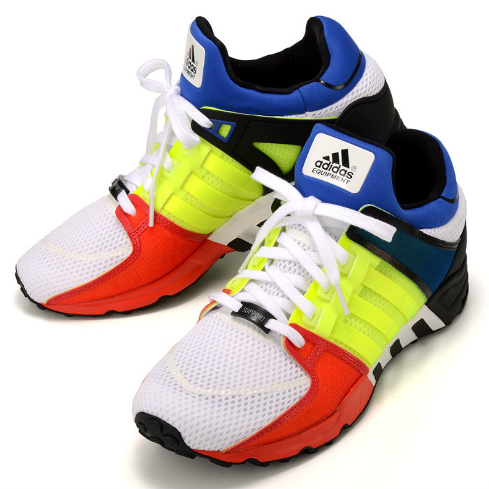 online store 7d42d 71803 adidas EQUIPMENT RUNNING SUPPORT S81483 adidas equipment running support  Sneakers Shoes multi-color white red yellow blue green 05P01Oct16