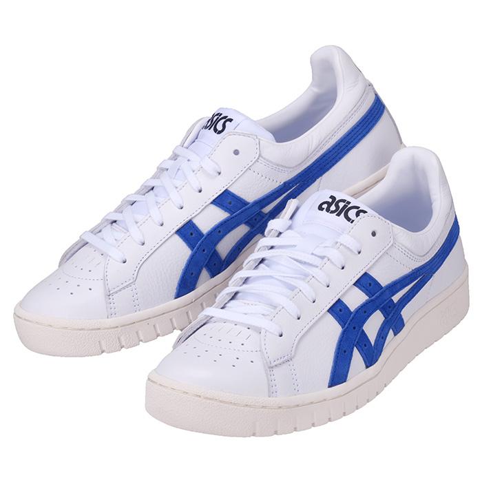 ASICSTIGER 激安通販ショッピング アシックスタイガー GEL-PTG HL7X0 100 ゲル ピーティージー 白 青 ブルー ホワイト スニーカー 靴 在庫処分
