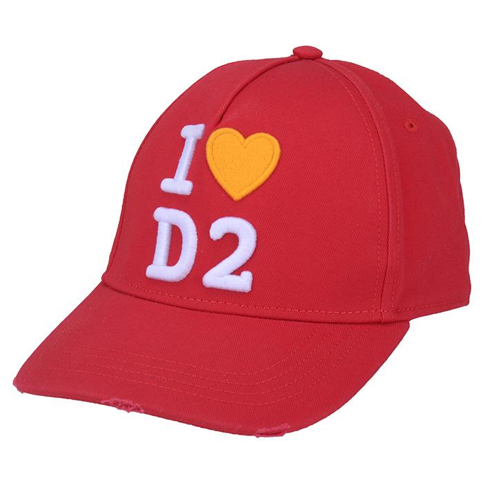 DSQUARED2 ディースクエアード BASEBALL CAP トレンド ベースボールキャップ 低廉 4065 BCW0017 05C00001