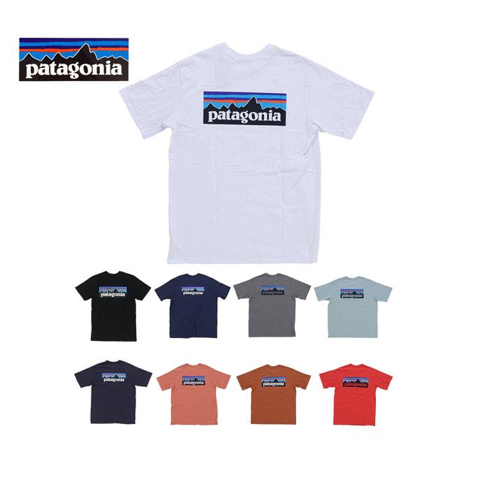 購入後レビューを書いてステッカープレゼント レビュープレゼントキャンペーン中 メール便 Patagonia パタゴニア M's P-6 Logo Responsibili-Tee バックプリント 期間限定で特別価格 Tシャツ 売れ筋 pat0098 レスポンシビリティー 38504 セール価格 メンズ 半袖