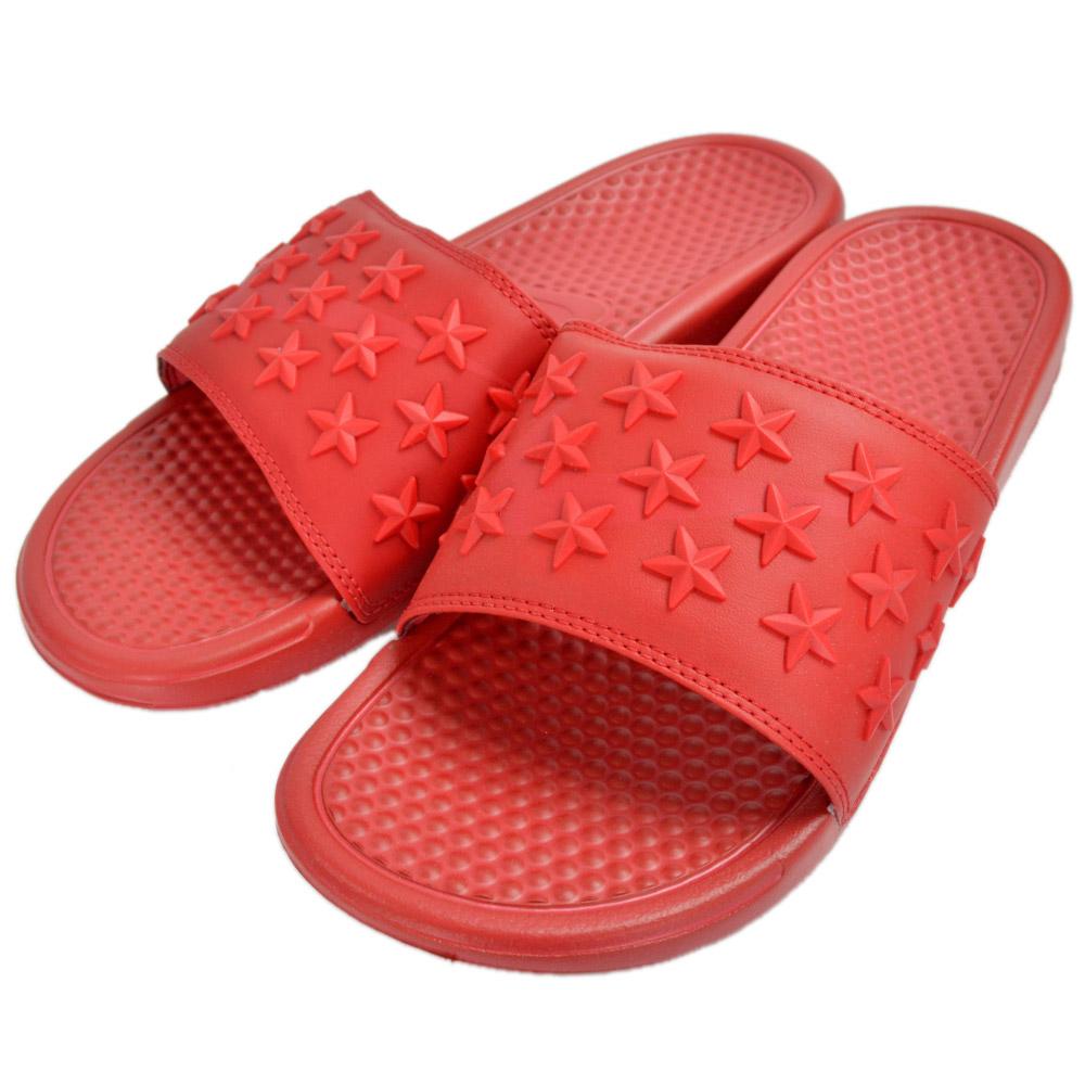 耐克 BENASSI JDI QS 獨立天 807909 111 807909 666 807909 444 耐克 Benassi 獨立涼鞋白色紅色海軍運動涼鞋 05P01Oct16