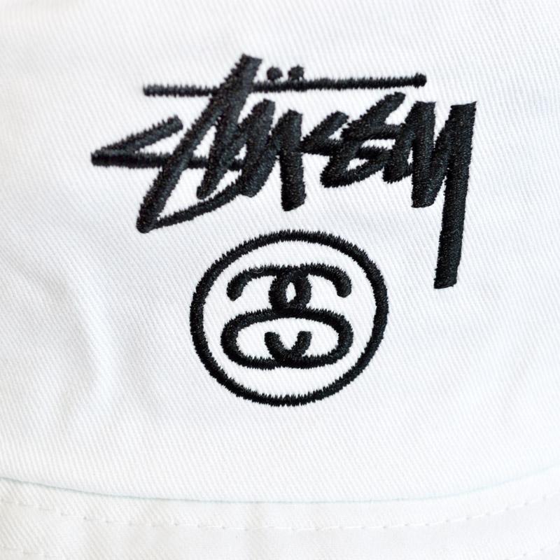 STUSSY STOCK LOCK BUCKET HAT ステューシーストックロックバケットハットブラックホワイトネイビー hat