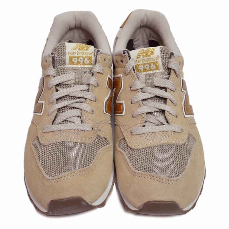 new balance wr996cb sneaker beige gold