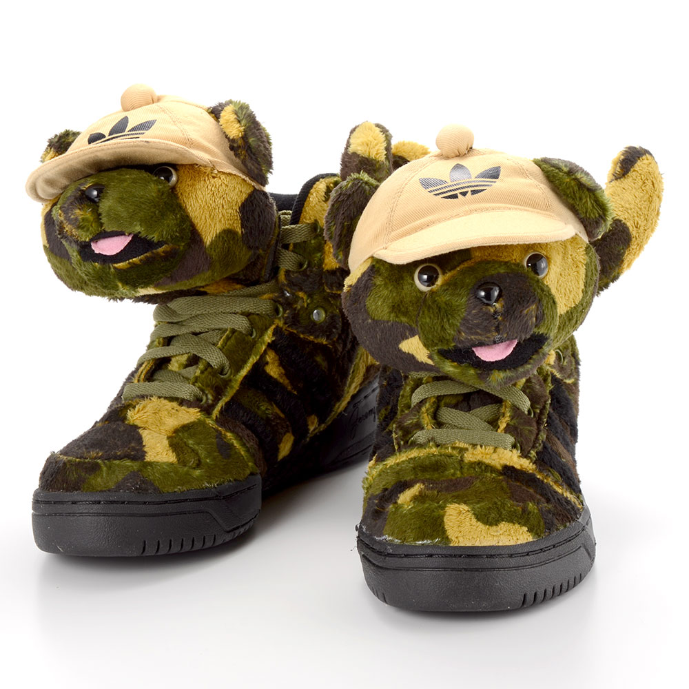 fadfc53585517 Adidas Jeremy Scott Camo Bear kenmore-cleaning.co.uk