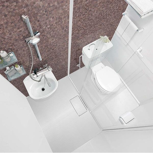 パナソニックAWE シャワー&パウダー2 SP2 トイレユニット 1116 Tタイプ プラン3 【商品のみ】