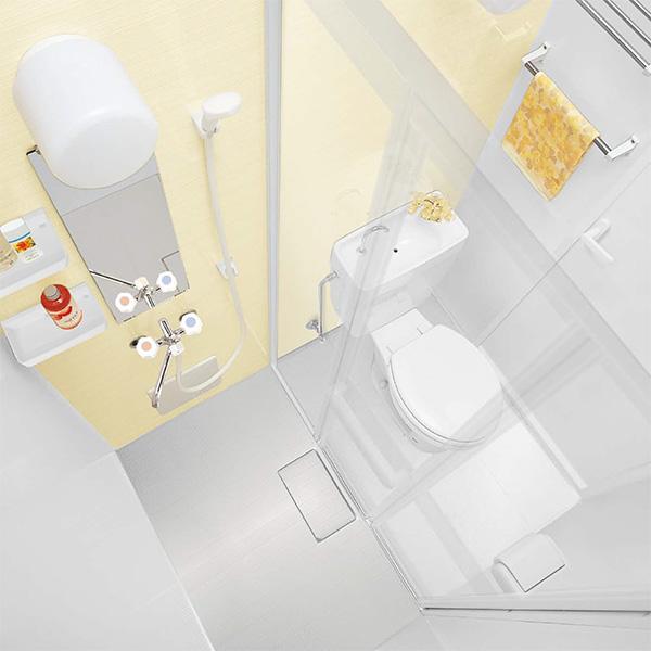 パナソニックAWE シャワー&パウダー2 SP2 トイレユニット 1014サイズ Tタイプ プラン4 【商品のみ】