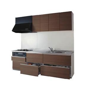 人気が高い ミッテ I型スリム基本プラン 間口2550 食洗機なし プライスグループ1商品のみ:リリパ おふろの1DAYリフォーム システムキッチン TOTO-木材・建築資材・設備