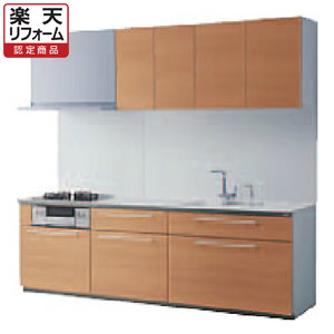 TOTO システムキッチン ザ・クラッソ I型おすすめパッケージ 間口2400 食洗機なし 1A・1Bリリパの取付工事パック【リフォーム認定商品】