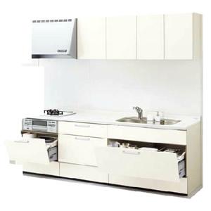 LIXILシステムキッチン リシェルI型 お手入れらくらくプラン 食洗機なし 奥行650 間口2250 扉グループ1商品のみ